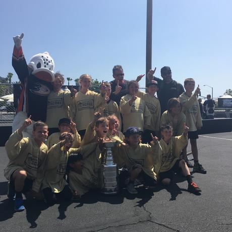 Two Time Anaheim Ducks S.C.O.R.E. Street Hockey Shootout Tournament Champions!  2014 and 2016 Champions!