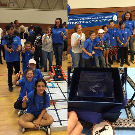 RoboDucks Win Inaugural NMUSD Robotics Competition